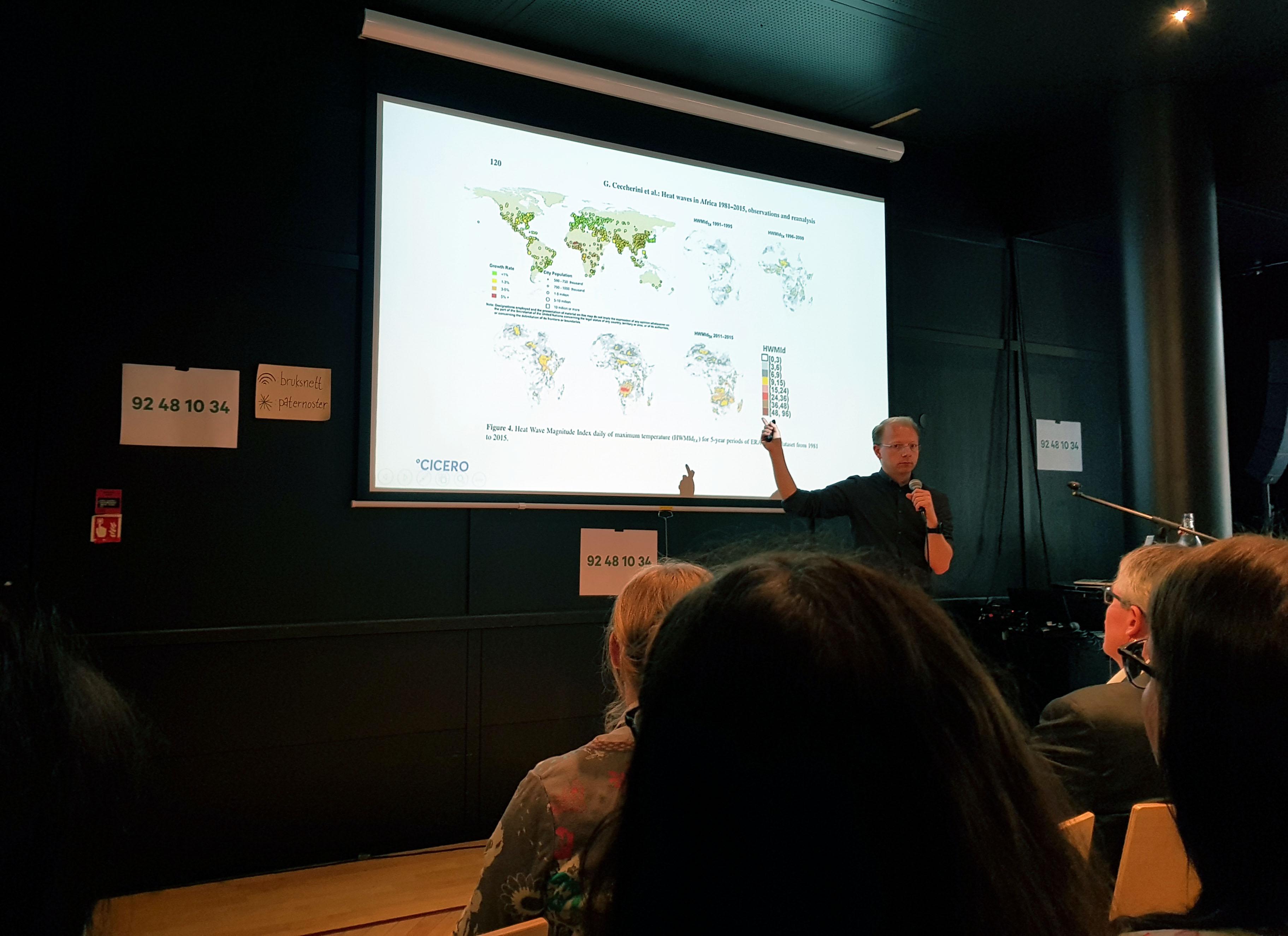 Bjørn Hallvard Samset, seniorforsker ved CICERO forklarte hva klimakrisen egentlig går ut på.